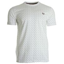 Fredperry - Square Print Tee-Shirt White