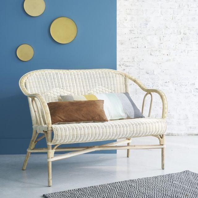 bois dessus bois dessous canap en rotin naturel pas cher achat vente chaises rueducommerce. Black Bedroom Furniture Sets. Home Design Ideas