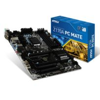 MSI - Z170A PC MATE - Chipset Z170 - Socket 1151