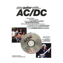 Music Sales - Partition : Ac/DC play guitar with + Cd