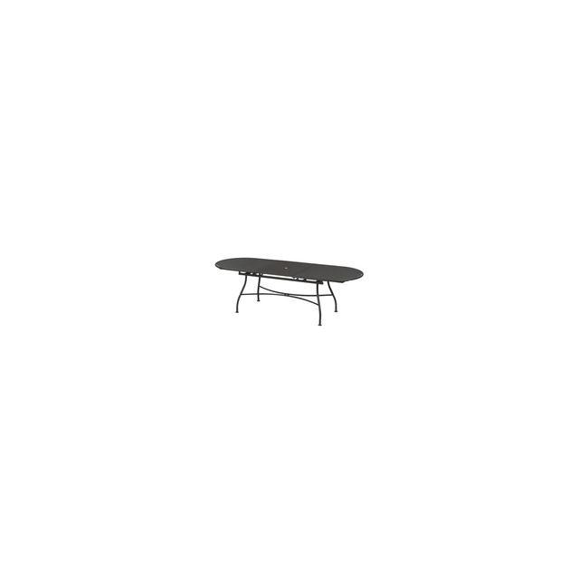 Oasi by Emu - Table de jardin ovale extensible Acier 180 ...