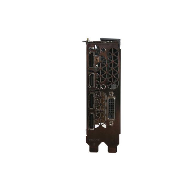 ZOTAC GeForce GTX 1060 3Go Équipée de technologies performantes et innovantes, la carte graphique GeForce GTX 1060 est le choix idéal pour jouer en haute définition. Accélérée par NVIDIA Pascal™, l'ar