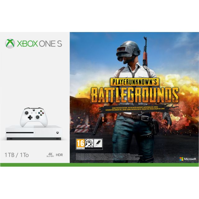 Console Xbox 360 Carrefour: Pack Xbox One S 1To
