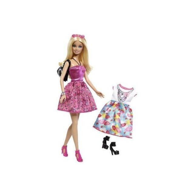 Barbie - Coffret poupée Wow + tenue complète supplémentaire - pas ... 127be0478256