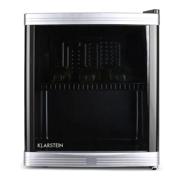 KLARSTEIN Beerlocker Mini-réfrigérateur 46L 15 bouteilles classe B noir