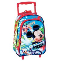 Mickey Et Ses Amis - Sac à dos à roulettes maternelle Mickey Mouse 37 Cm trolley - Cartable