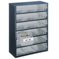 Raaco - Casier de rangement 918-02 à 18 tiroirs 137478