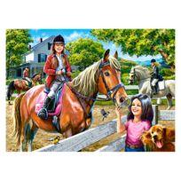 Castorland - Puzzle 300 pièces : Equitation