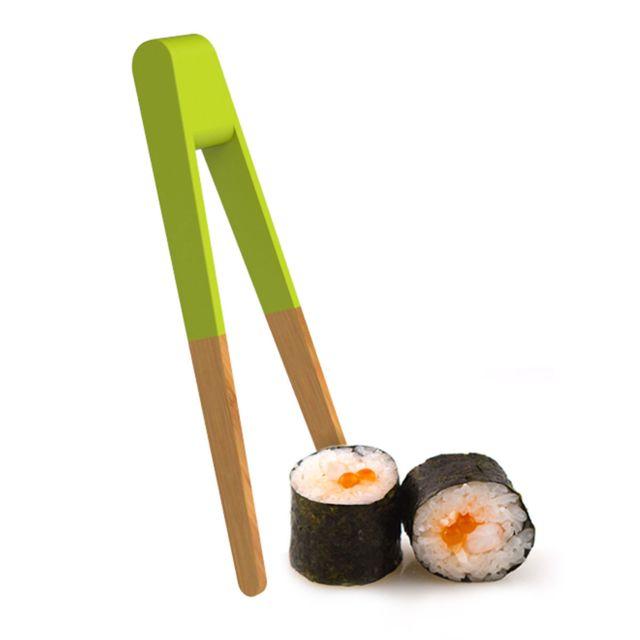 Pebbly Kitchen Pince à sushi 15 cm - vert