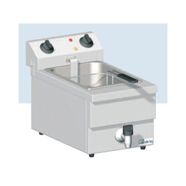 Materiel Chr Pro Friteuse de Table Electrique avec Vidange - 10 L - Afi Collin Lucy