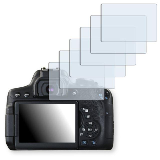 Golebo - Canon Eos 750D protection d'écran - 6x Crystal pour Canon Eos 750D