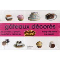 Hachette Pratique - Mini-coffret ; gâteaux décorés