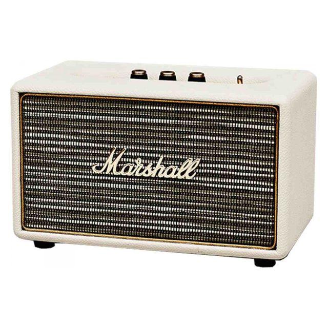Marshall Enceinte sans fil compacte Acton Creme Station Rock 40 W