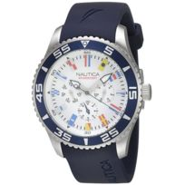 Nautica - Montre homme Nst-07 Multi Flag Box Set Nai13502G