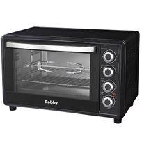Robby - four multifonction chaleur tournante 45l 2000w noir - oven 45l