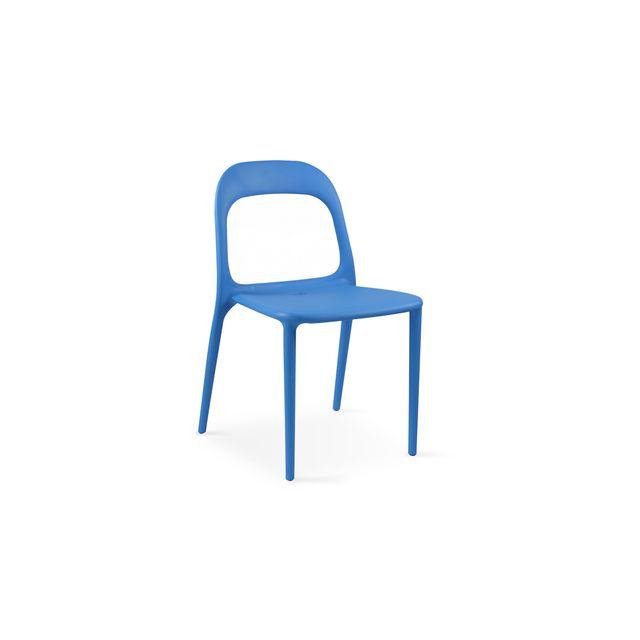 oviala chaise en plastique de jardin pas cher achat vente chaises de jardin rueducommerce. Black Bedroom Furniture Sets. Home Design Ideas