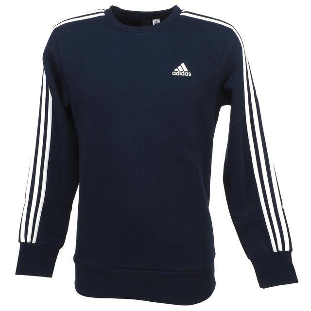 Adidas crew sw Ess 57826 cher Achat navy Bleu Sweat pas 3s 1qxrF1t