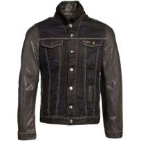 Gov Denim - Veste en jean urbain Noir Td_1012 M