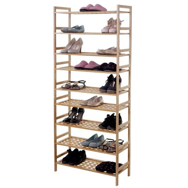 Meuble à chaussures hwc b53 ~ 2 étagères, extensible Vente