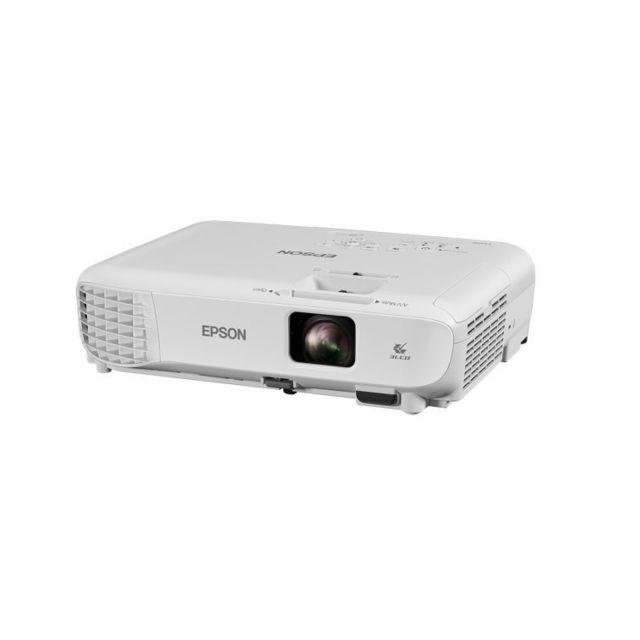 EPSON videoprojecteur EB-S05 Projecteur SVGAProfitez d'images lumineuses et de haute qualité dans la maison comme au bureau grâce à ce modèle SVGA facile d'utilisation, doté de la technologie 3LCD.