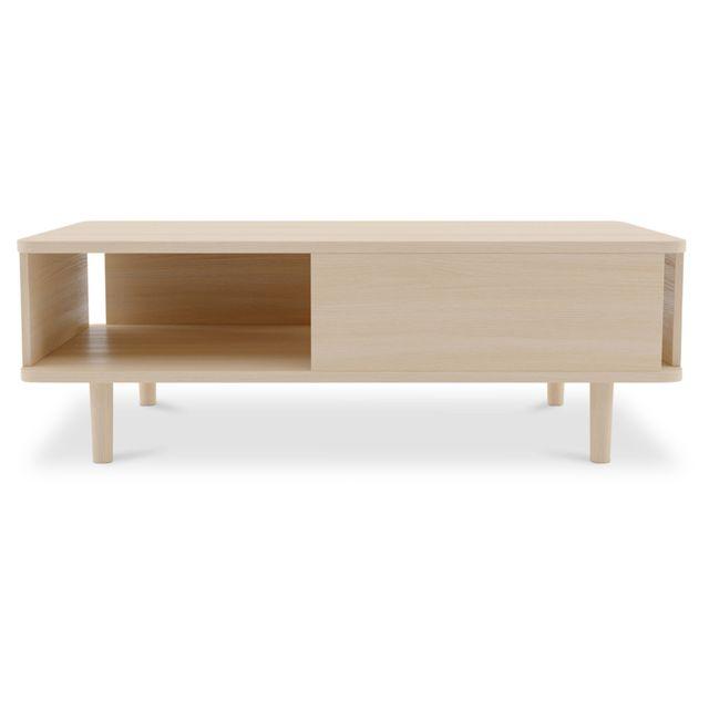 Privatefloor Table basse en bois