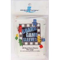 Arcane Tinmen - Jeux de société - 100 protèges cartes pour Jeux de Plateaux - At Large 59x92mm