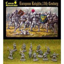 Caesar Miniatures - Figurines médiévales : Chevaliers européens Xve siècle