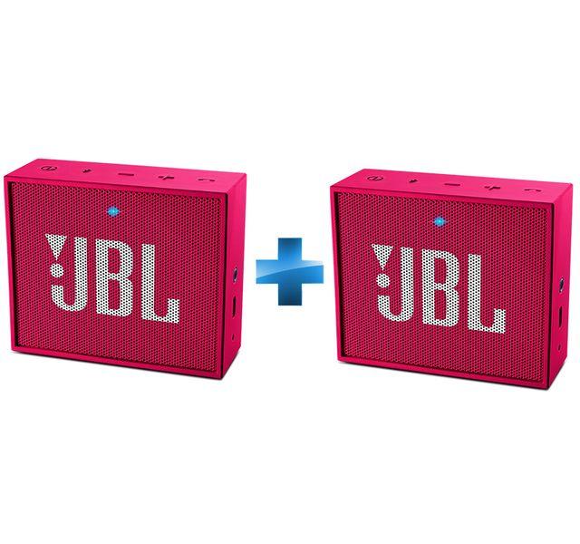 JBL Enceintes GO Rose x2