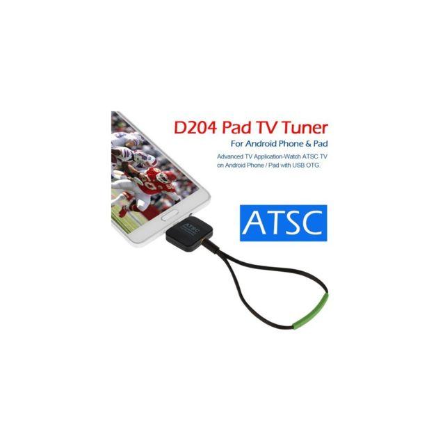 Auto-hightech Récepteur Tv Numérique Micro Usb pour Téléphone Android / Tablette avec Usb, Tv Tuner, Bâton Otg Tv