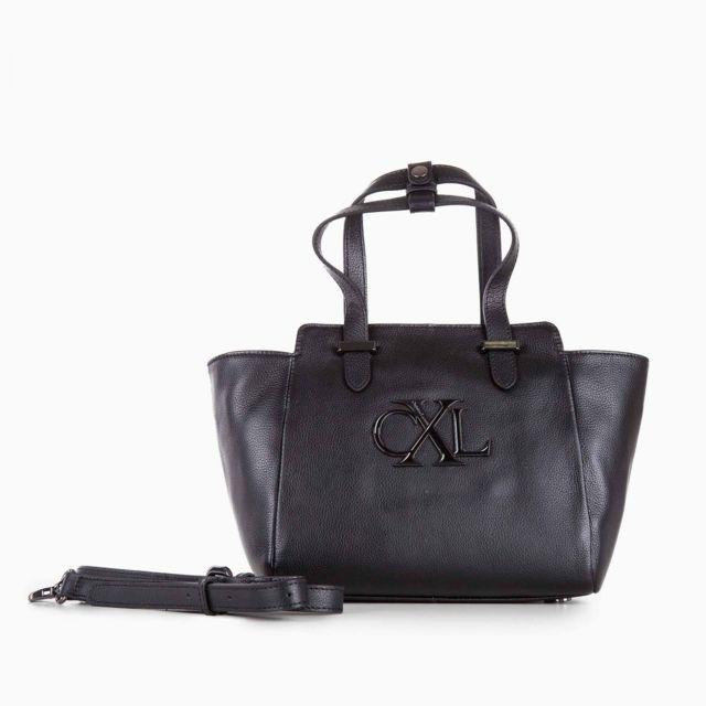 ba2ea7c037 Christian Lacroix - Petit sac en cuir noir femme - pas cher Achat / Vente  Sacs à main - RueDuCommerce