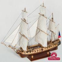 Constructor - Maquette bateau en bois : La Flore