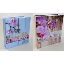 Ariane - Lot de 2 albums photos mémo zen bois 200 pochettes 11x15 cm