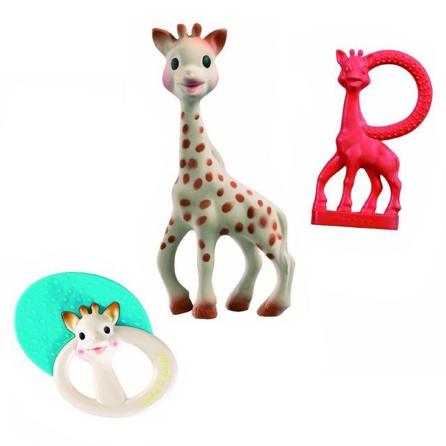 Vulli - Set de naissance Sophie la girafe avec hochet et anneau de dentition
