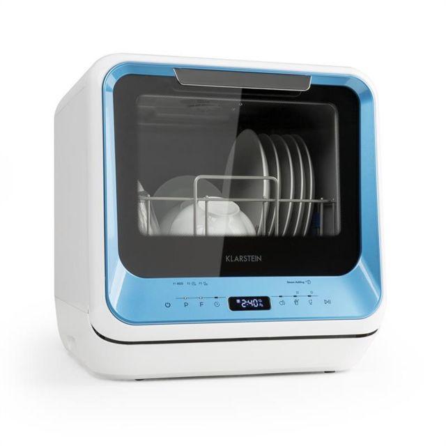 KLARSTEIN Amazonia Mini lave-vaisselle 6 programmes écran LED classe A - bleu