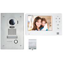 AIPHONE - Interphone vidéo écran 7 pouces encastrable - JOS1F