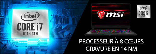 MSI - Processeur Intel Core i7 10th