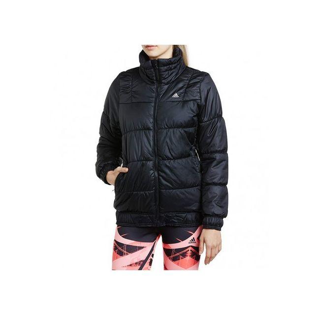 0aa96e4421f5 ADIDAS ORIGINALS - J P LT JACKET BLK - Doudoune Femme Adidas - pas ...