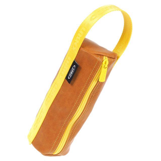 concepteur neuf et d'occasion gamme exceptionnelle de styles super promotions Sacoche boules pétanque Trousse cuir camel Marron 10566