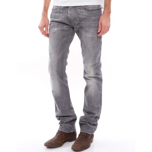Kaporal 5 Jeans Kaporal Demi Slim Boren Silver Pas Cher Achat