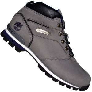 timberland boots chaussures montantes homme splitrock 2 hiker cuir gris pas cher achat. Black Bedroom Furniture Sets. Home Design Ideas