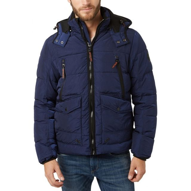 Tom Tailor - Doudoune Thinsulate Puffer Jacket - pas cher Achat   Vente  Doudoune homme - RueDuCommerce 7b89bf34208