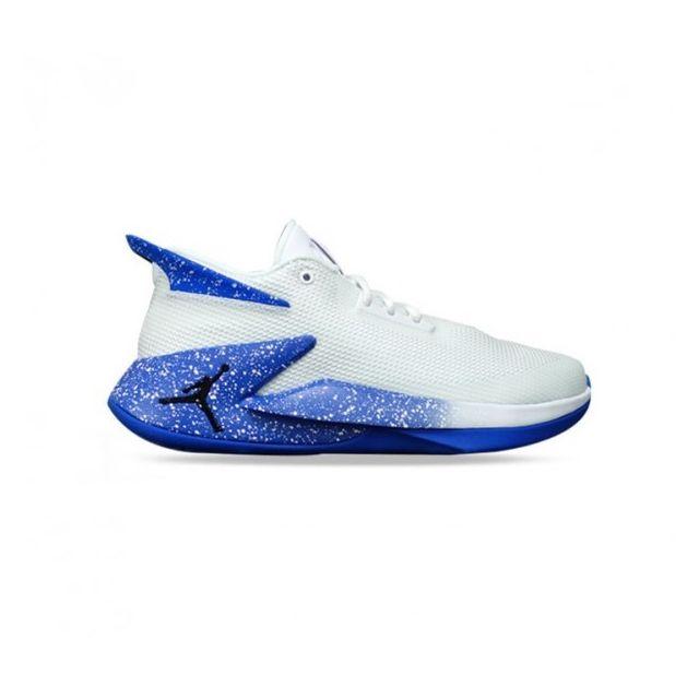 best sale watch factory outlets Jordan - Chaussure de Basketball Fly Lockdown Blanc Royal ...
