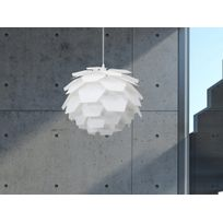 Beliani - Lampe de plafond - suspension - plafonnier - luminaire blanc - Segre Mini