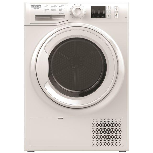 HOTPOINT Sèche-linge à condensation - NTM1081FR - Blanc