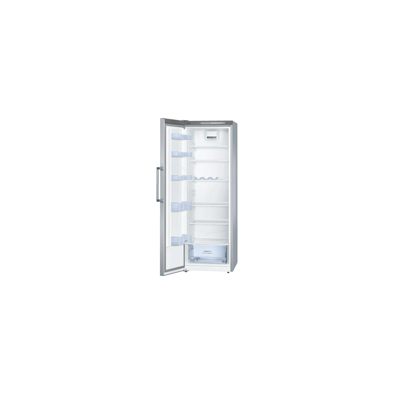 BOSCH  Réfrigérateur 1 Porte 60cm 324l A++ Brassé Finition Inox   Ksv33ni30
