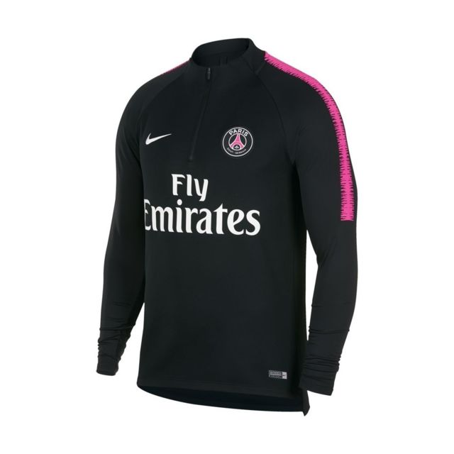 Survêtement PSG  rose et noir Collection Officiel 2019 DRY-FIT
