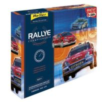 Heller - Maquettes voitures : Kit complet : Rallye Championship