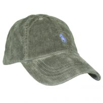 Ralph Lauren - Casquette velour vert kaki logo bleu pour homme. Plus que 8  articles 80c04d8ca14