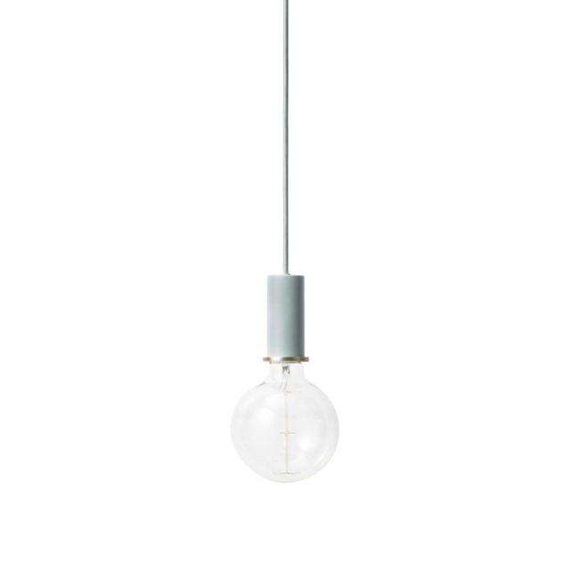 Ferm Living - Collect-suspension H10,2cm bleu ciel