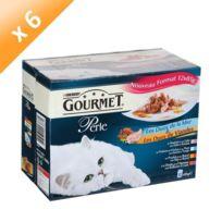 Gourmet - Perle Duos de mer et viandes pour chat 12 x 85g -6